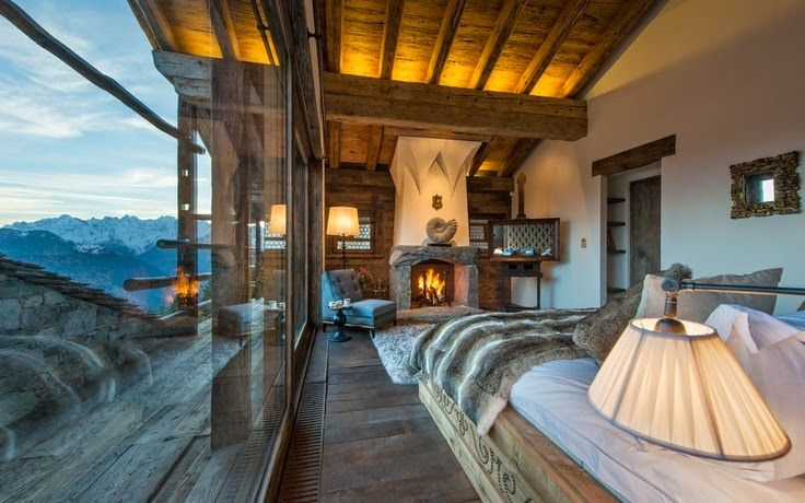 Rustic interior design: Most beautiful houses in the world ...