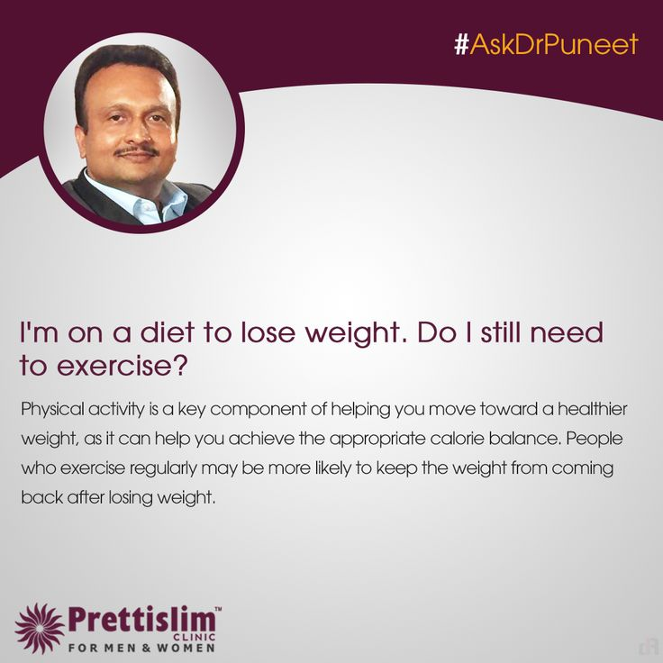 Wondering about Maintaining Health or Weight Loss?  Send in your queries with #AskDrPuneet, and our MD will answer a new question every Thursday! 8080812201 | www.prettislim.com #weightloss #fattofit