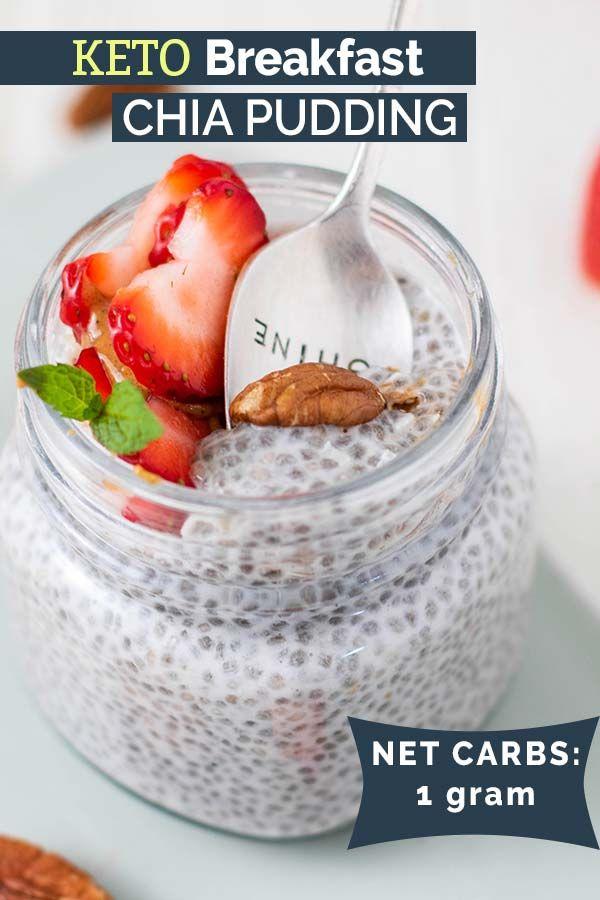 Keto Chia Pudding Blissfullylowcarb Com Recipe Keto Chia Pudding Keto Pudding Low Carb Breakfast Recipes