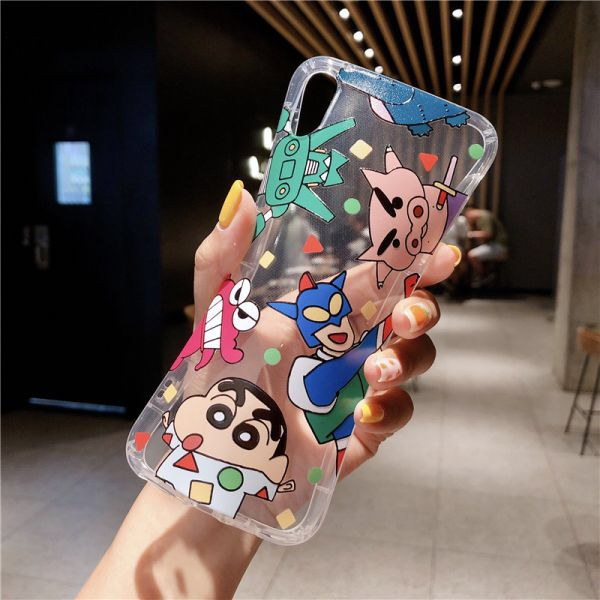 Us 1 51 31 Off Japan Cartoon Cute Crayon Shin Chan Phone Case For Iphone 11 Pro X Xs Max Xr 8 7 6 Plus Action Kamen Clear Tp In 2020 Phone Cases Iphone Cases Case