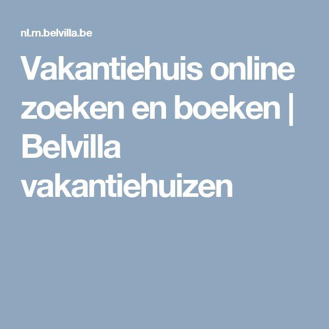 Vakantiehuis online zoeken en boeken | Belvilla vakantiehuizen