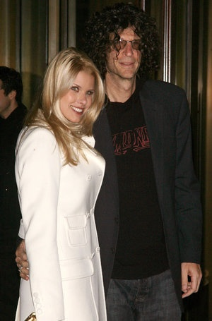 Howard Stern and wife Beth Ostrosky (Jim Spellman/WireImage)