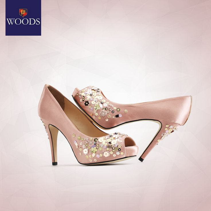 Style up your Friday night with these sequins embellished pink peeptoes. What would you pair with these beauties?