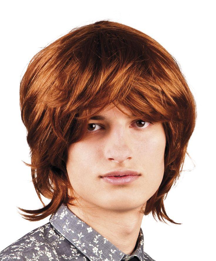 Miesten mod-peruukki. Miesten mod-peruukilla luot hiuksiisi 60-luvun trendikkään tyylin. Mod-kulttuuri koki vahvan paluun 70-luvun lopulla, joten tämä peruukki käy hyvin myös 70-luvun naamiaisasujen kanssa käytettäväksi.