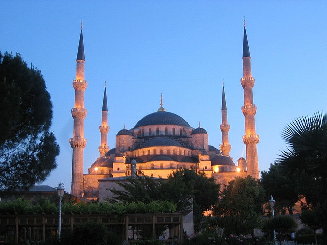 The Blue Mosque - from a collection of mosques around the world