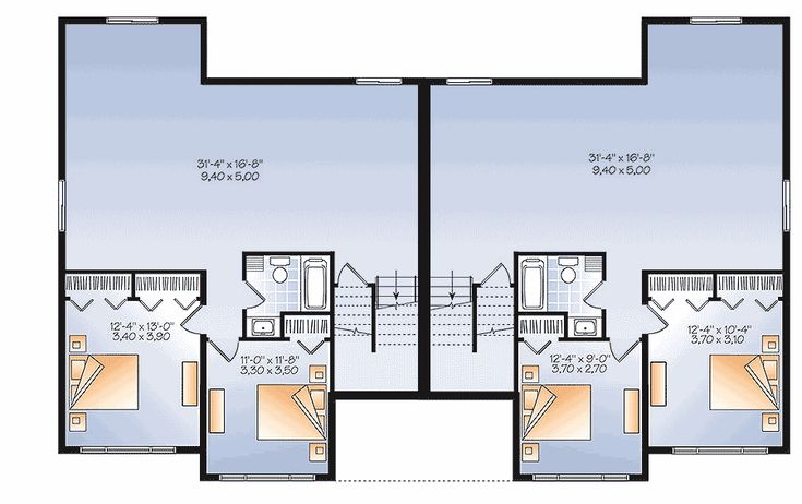 26 Best Duplex House Plans Images On Pinterest Small
