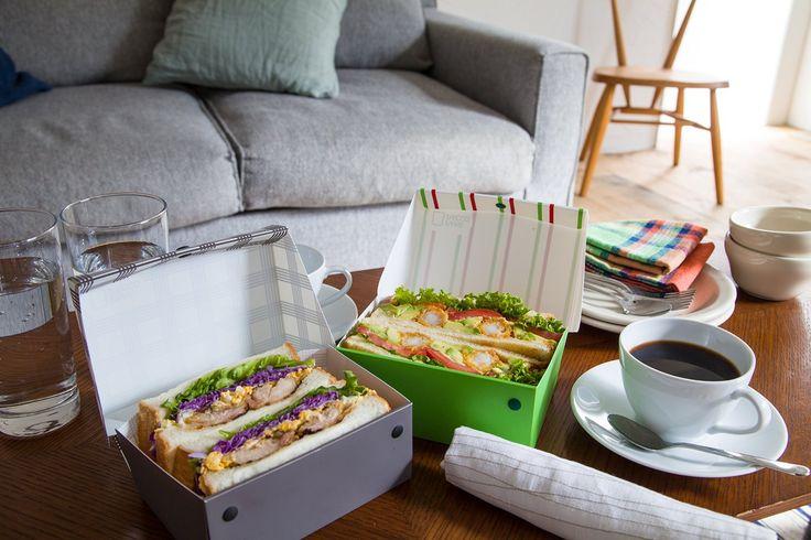 Amazon.co.jp : ホーショー サンドイッチケース パーネパッコ チェック・ネロ PP-311-CNB : ホーム&キッチン