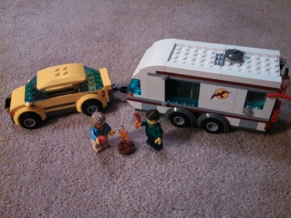 how to build a lego camper trailer