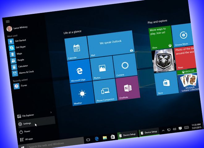 Windows 10: How to Use (and Tweak) the New Start Screen  Yes, the Start screen is still around in Windows 10, but with a new look and feel. Here's how to navigate the revised Start screen and customize its key settings.