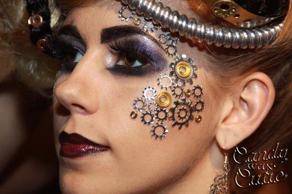 steampunk makeup - Google Търсене