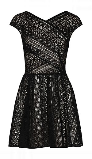 Spring Racing Fashion: Lover - Pyramid Cotton-Blend Lace Dress