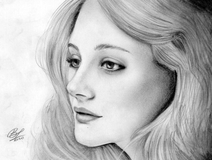Romola Garai by BarbaraMariaPoleszuk, drawing  http://RomolaGarai.org