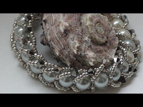 Master class bead bracelet / DIY TUTORIAL braselet - YouTube