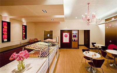 Hot Cupcake Bakery Shop Design - Design by Bonstra|Haresign Architects