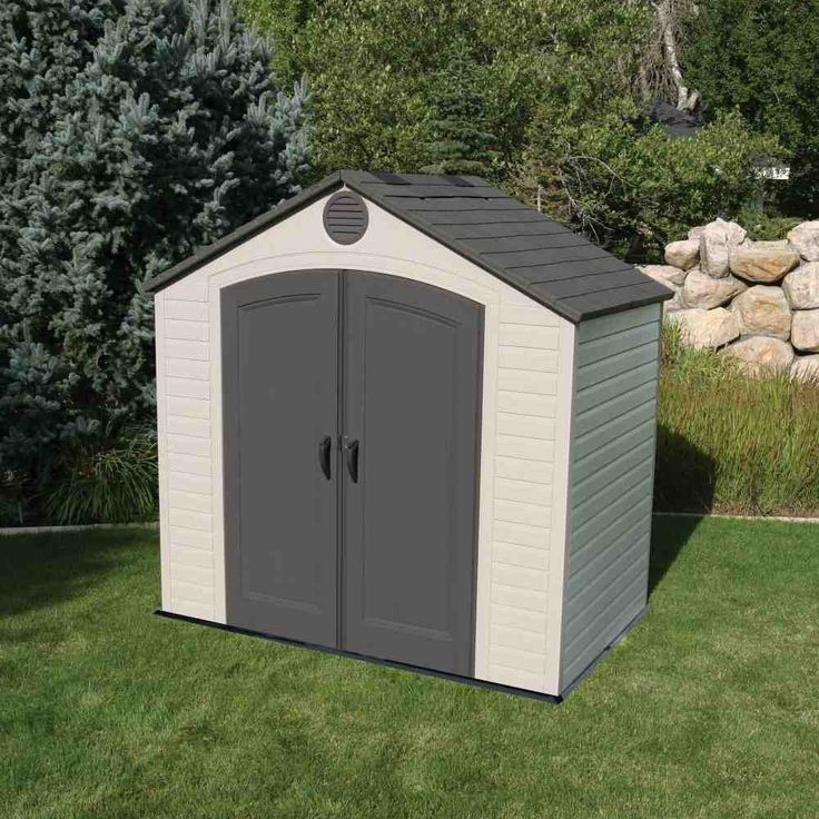 Plastic Bike Storage Shed