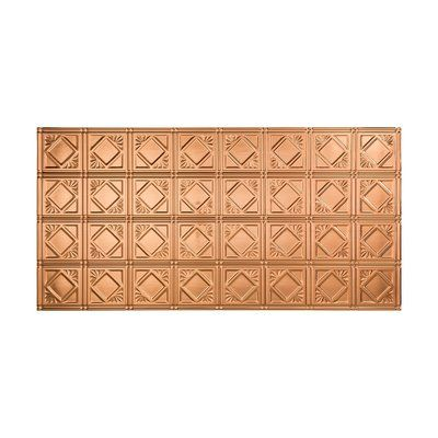 New Fasade Traditional ft x ft Glue Up Ceiling Tile in
