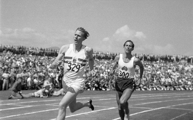 Sir Roger Bannister: the day I reclaimed the four-minute mile 46 days after Sir…