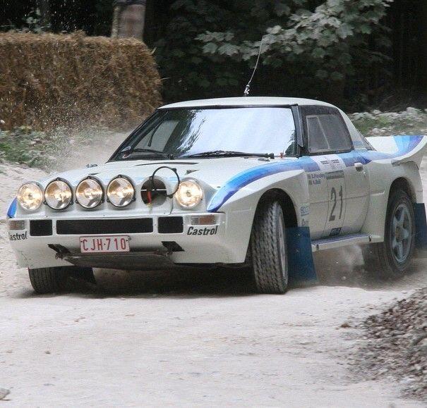 Rally Mazda Rx-7