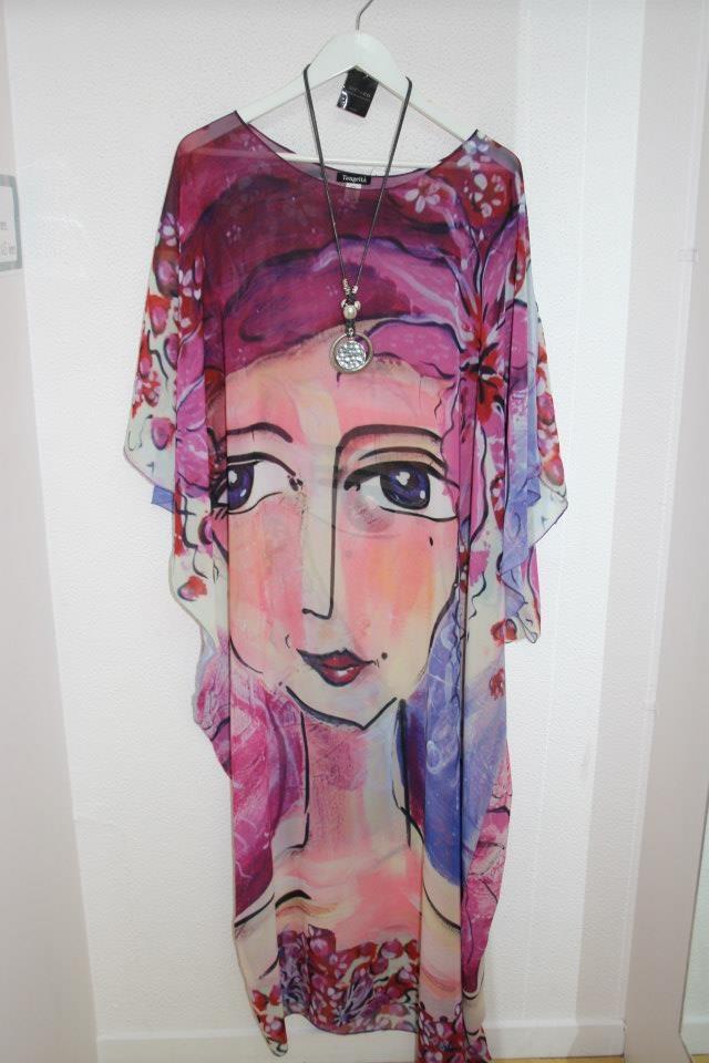 Pink Lady chiffon kaftan $189  One size fits all  www.tangella.com.au