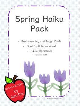 how to write a haiku worksheet
