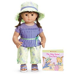 American Girl® : Tea Party Pants Set for Doll + Book