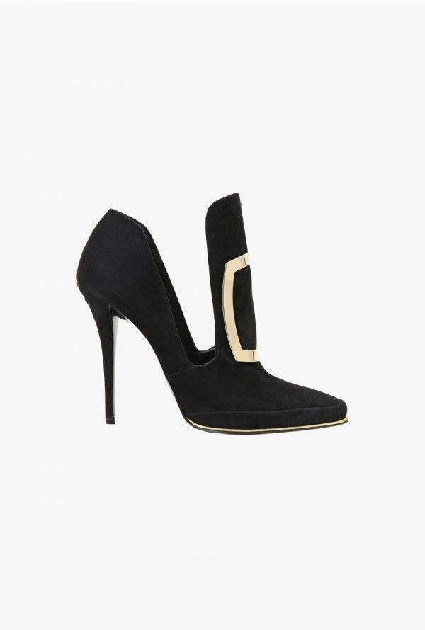 Désirée suede pumps | Women's shoes | Balmain