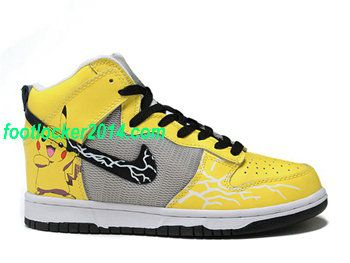 off Nike Dunk Lr Mens Nike Dunks Pikachu Pokemon Yellow 2015 running shoes