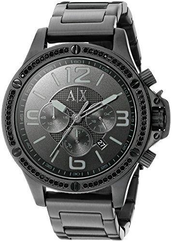Armani Exchange Herren Chronograph Analog Sportart Quartz Reloj AX1520 - http://uhr.haus/armani-exchange/armani-exchange-herren-chronograph-analog-reloj-2
