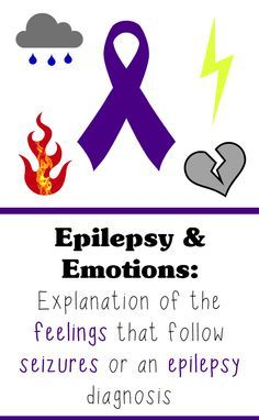 Having seizures and getting an epilepsy diagnosis can bring about a roller coaster of emotions for the person who had the seizure and their loved ones - and not always the emotions you would expect.
