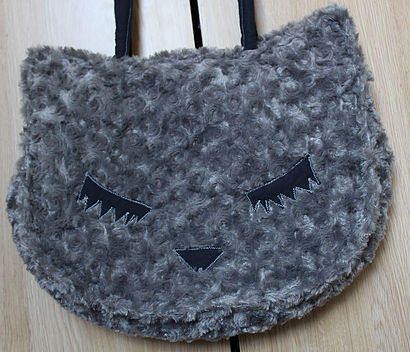 Cat Bag by RinDesigns on Etsy