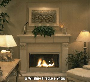 Cast Stone Mantel Marguerite Height 54 Inch Width 72 3 4 Inch Depth 9 Inch