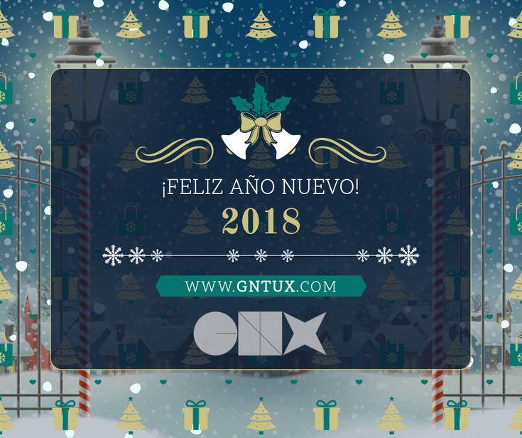 Desde GNTUX. os deseamos que el nuevo año #2018 venga cargado de muchas cosas buenas. Desde aquí os mandamos nuestros mejores deseos. ¡#Feliz #Año #Nuevo!  #Diseño #Formación #Informática #Marketing #Design #B2B #SEO #SEM #SMM #SMO #RRSS #Webmaster #Transformaciondigital #MarketingDigital #Internet #Tecnología #Linux #Sevilla #Andalucia #Navidad #Feliz2018