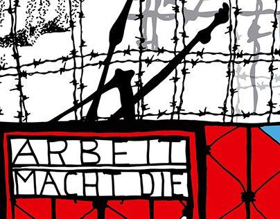 """Check out new work on my @Behance portfolio: """"Dachau. Arbeit macht die"""" http://be.net/gallery/26593921/Dachau-Arbeit-macht-die"""