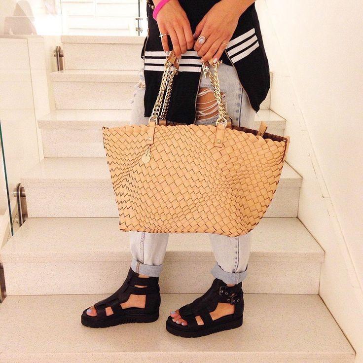 Patrizia Pepe bag Vs Crime shoes