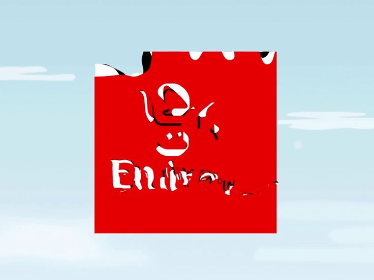 Fly Emirates and Dnata logo animations