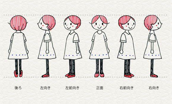 Illustrazioni di vario orientamento Persone