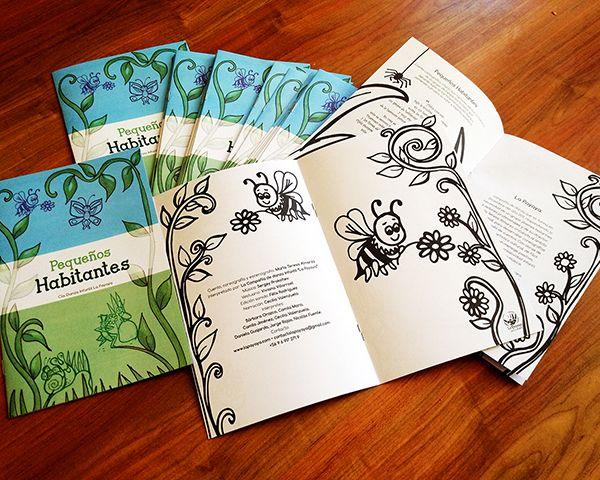 Libro para pintar  - compañía danza infantil La Payaya