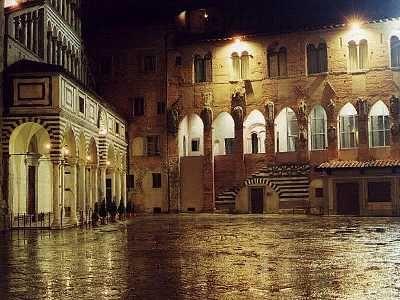 Pistoia, Italy- up in the mountains- near the town Pescia where Pinnochio was written