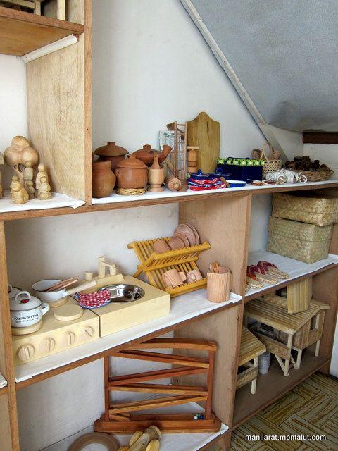 waldorf toys by manilarat, via Flickr I love the kitchen toys rather than a big kitchen set.