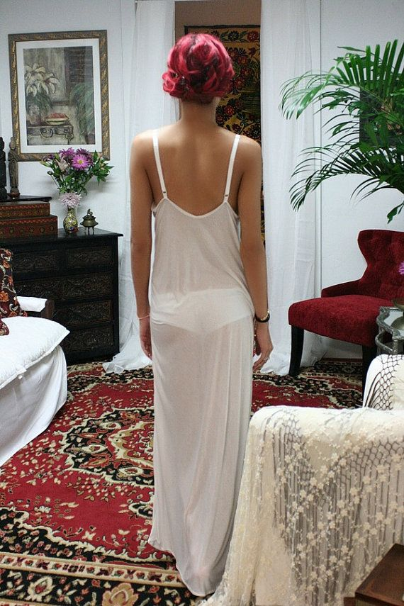 Hey, I found this really awesome Etsy listing at https://www.etsy.com/listing/176332909/ivory-silk-knit-slip-nightgown-bridal