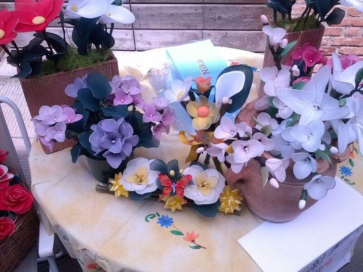 Collant flowers