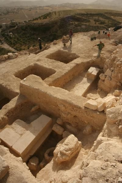 Herod the Great's Tomb- The scientist found Herod Skull. No skeleton for the worm eats it up. He was fulfillof hatred n thinks he the King of Heaven.