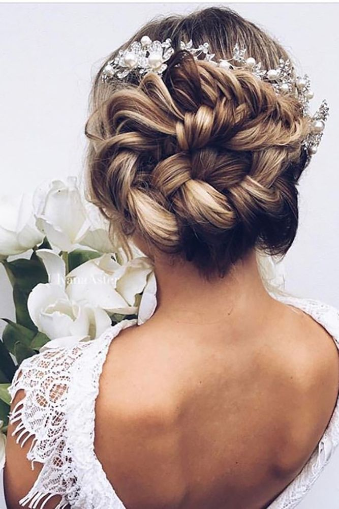 30 Most Outstanding Wedding Updos For Long Hair ❤ See more: http://www.weddingforward.com/wedding-updos-for-long-hair/ #wedding #hairstyles
