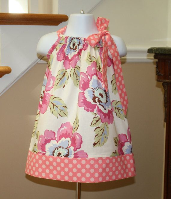 baby girl Pillowcase Dress Amy Butler SALE gypsy by BlakeandBailey, $15.00