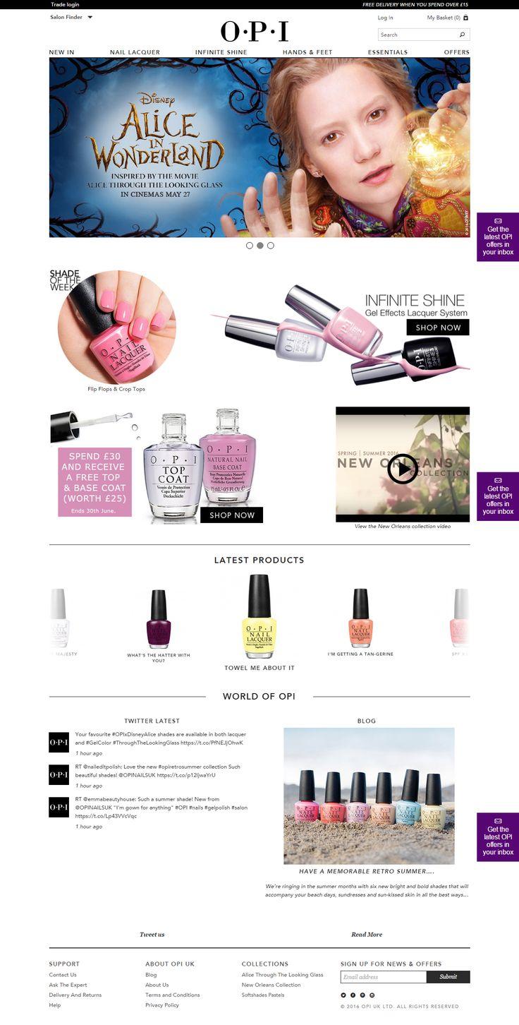 #OPI #UK - #Magento #website #ecommerce. #beauty #nails #nailpolish #acrylic #holiday #wedding