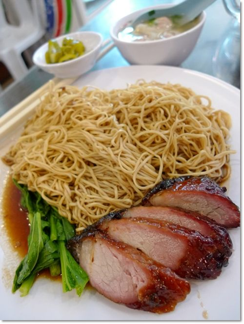 wantan mee | ... .20 you get a huge portion of wantan mee with char ...