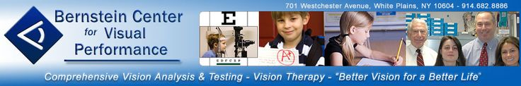 Binocular Vision Problems - Symptoms and Conditions - Treatment Options   Bernstein Center for Visual Performance