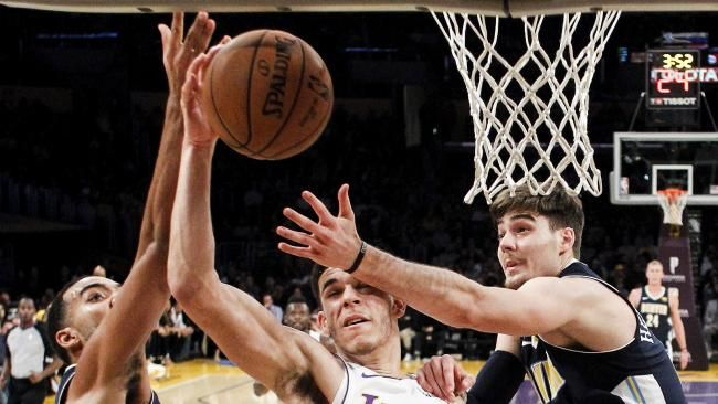 Lonzo Ball enters NBA record books after triple-double - NEWS.com.au #757Live