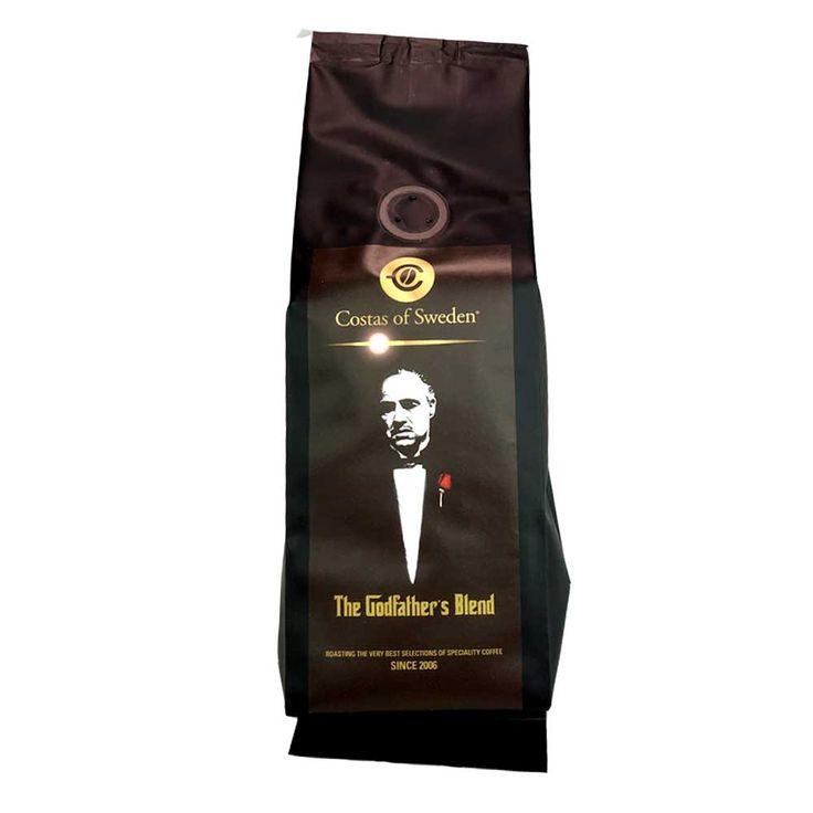 Costas Roastery – Godfather´s Blend - Espresso - Mörkrostade kaffebönor - 250g