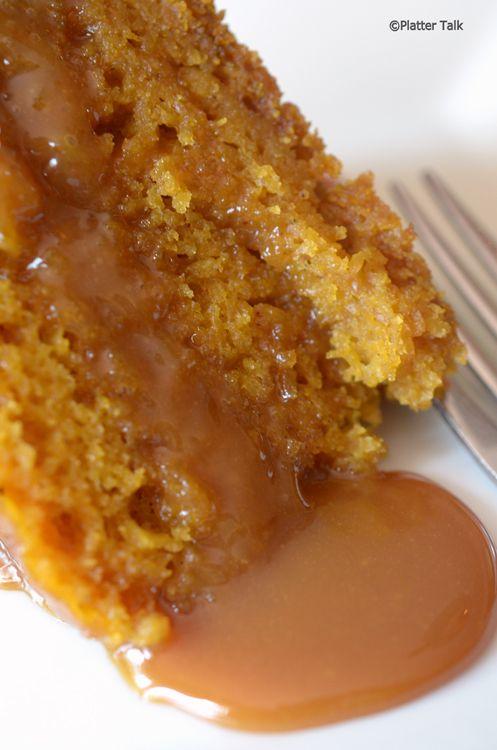 pumpkin cake in slow cooker
